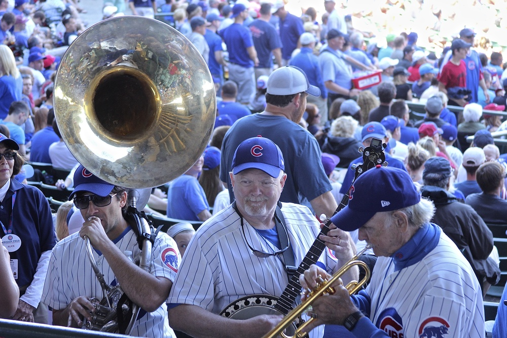 Chicago Cubs Dixieland Band