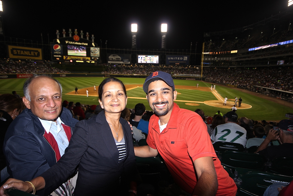 Me, my mom and my dad