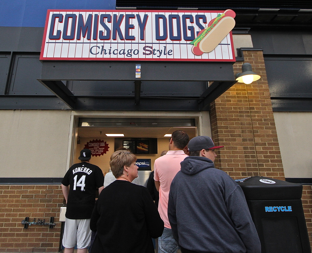 Comiskey Dogs stand