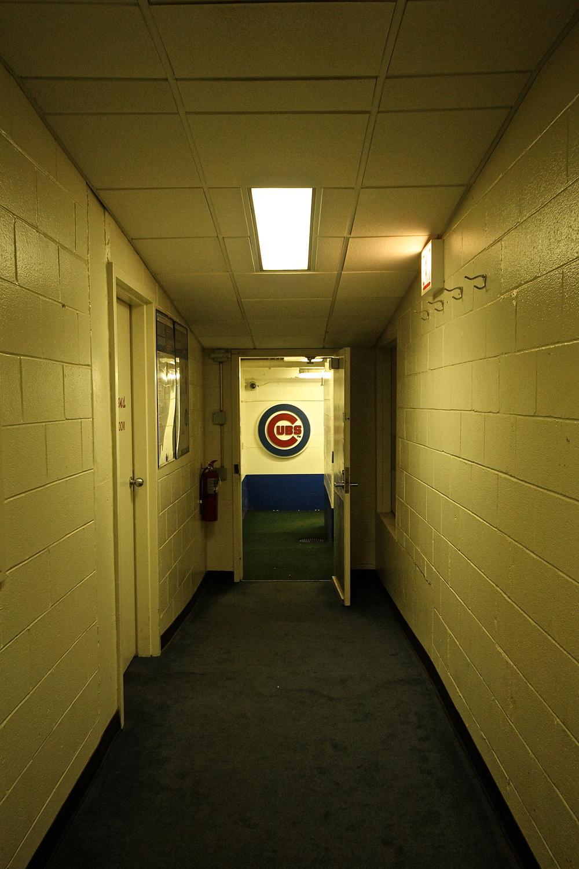 Wrigley walkway to the field