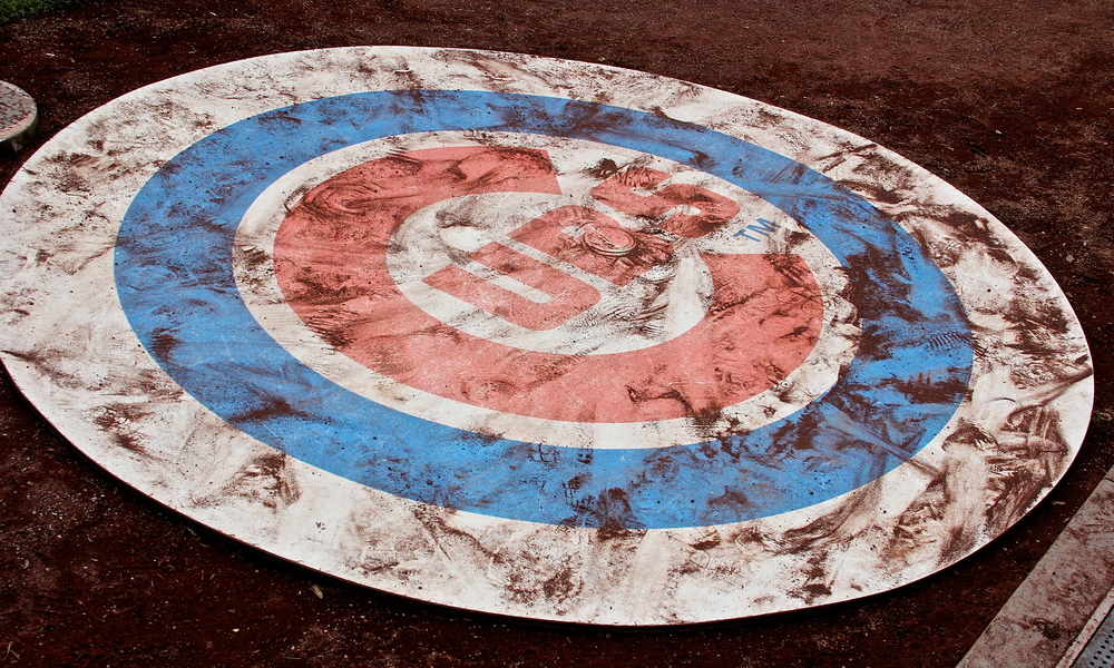 Cubs on-deck circle