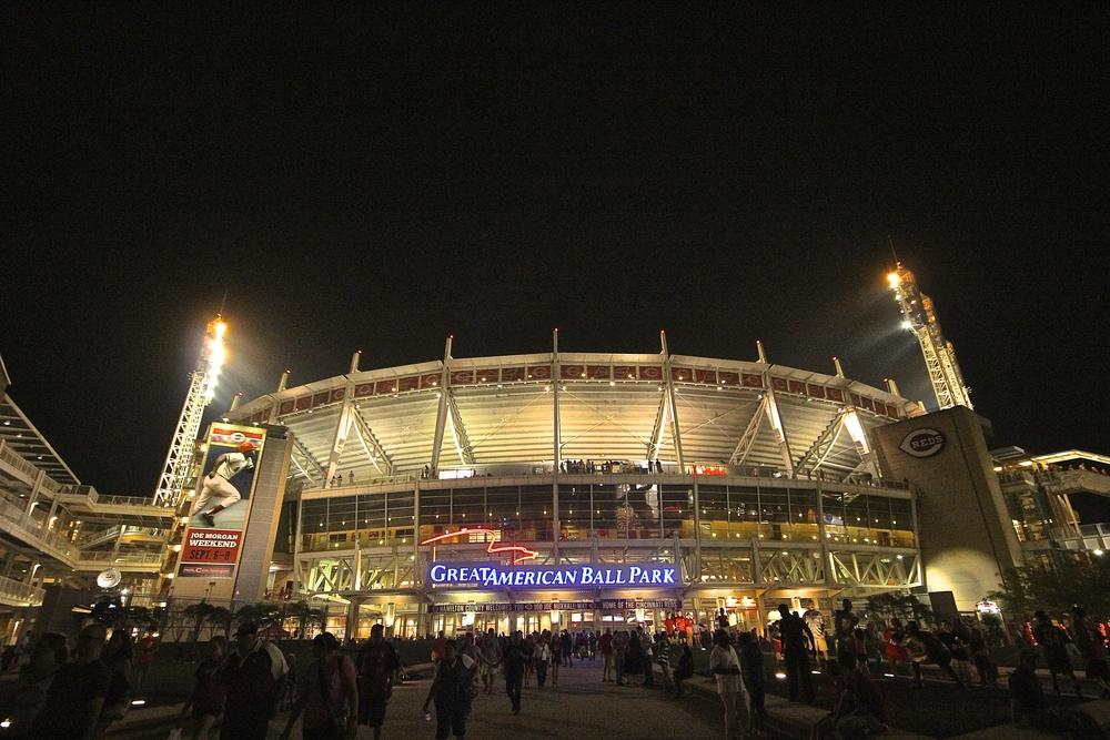 Good night Great American Ballpark