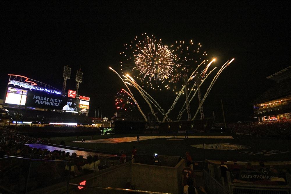 Spectacular fireworks show
