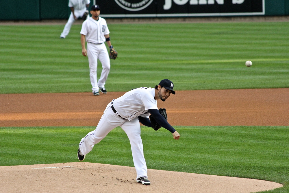 Anibal Sanchez follow through