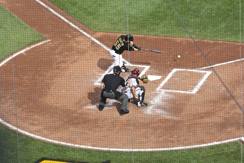 Russell Martin base hit
