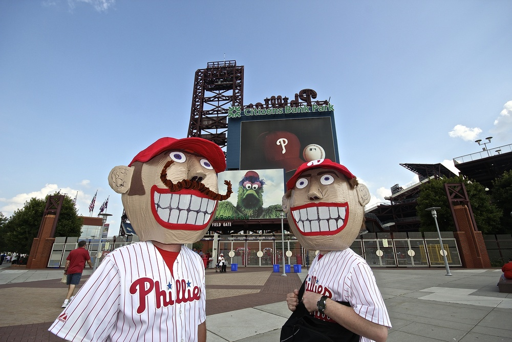 Just a couple of normal Phillies fans