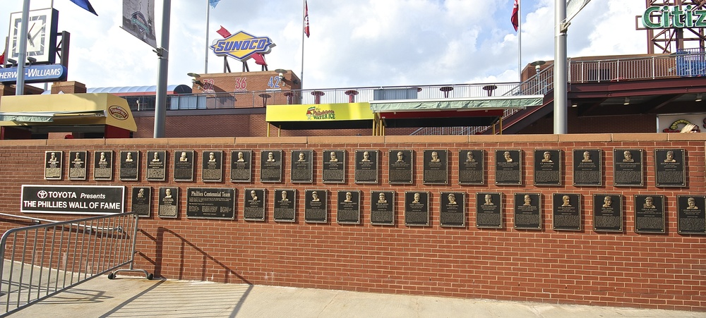 Phillies Wall of Fame