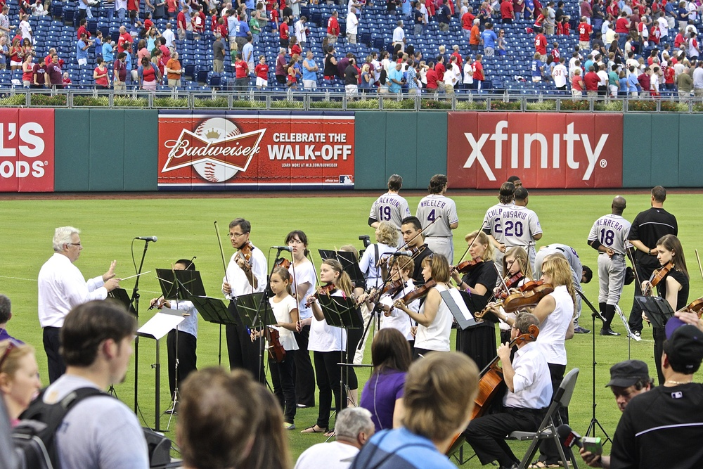 National Anthem by Strings in Motion with Heart Strings