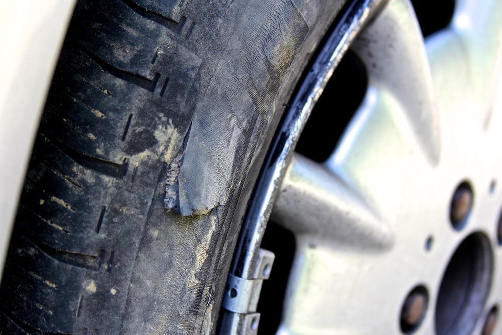 Whole in my tire