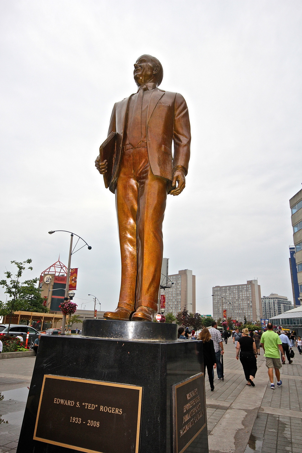 Statue of Ted Rogers