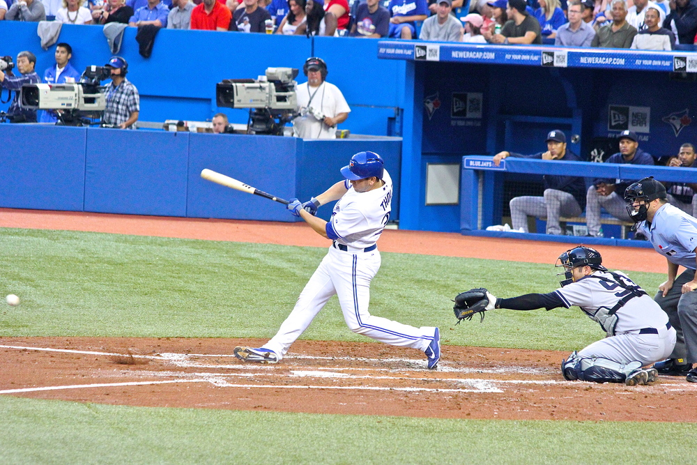 Josh Thole base hit