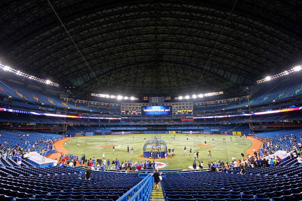 The Roof Is On At Rogers Centre