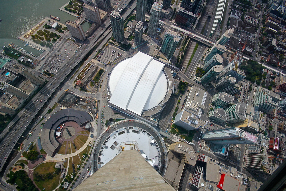 Rogers Centre from the CN Tower