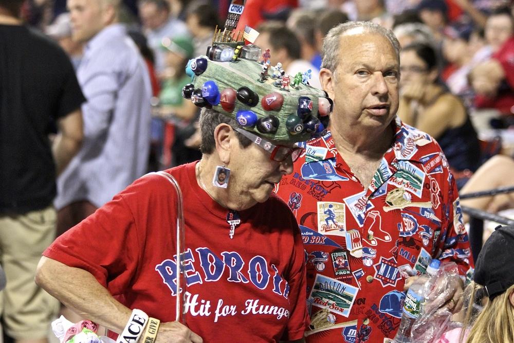 I love baseball fans