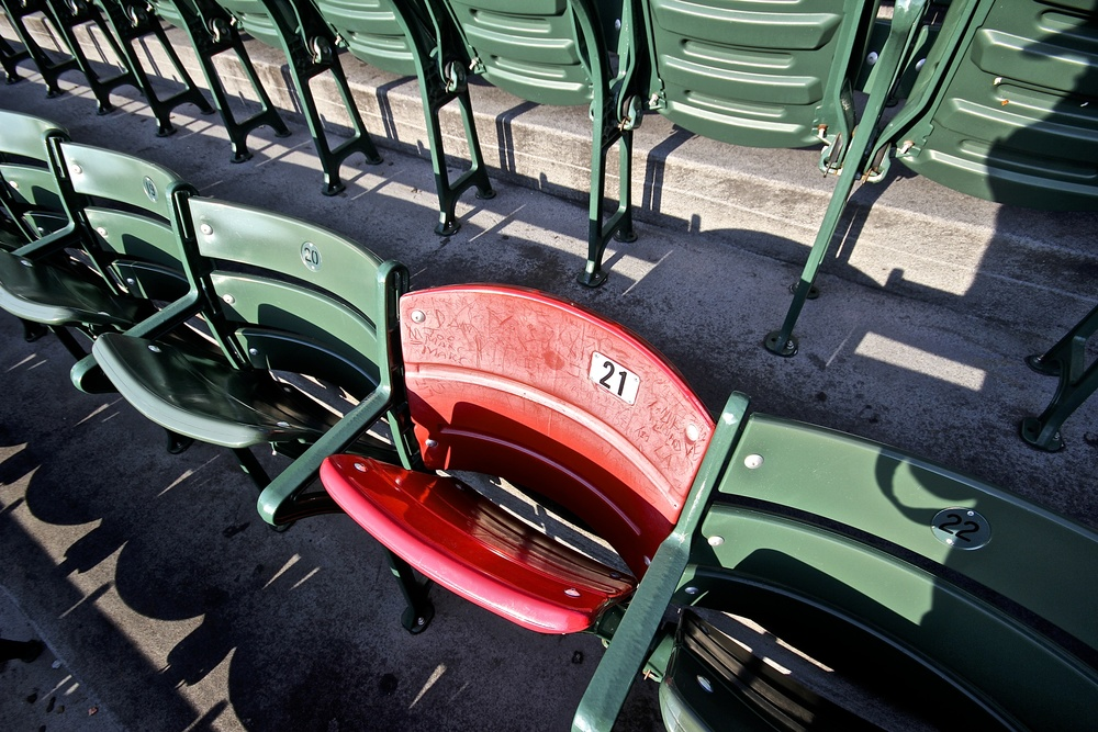 The Ted Williams seat