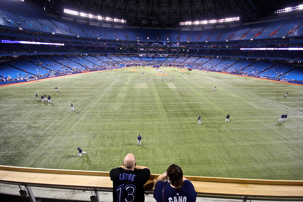 Rogers Centre standing room section