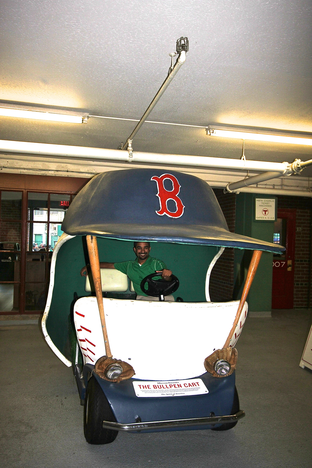 I miss these old bullpen cars