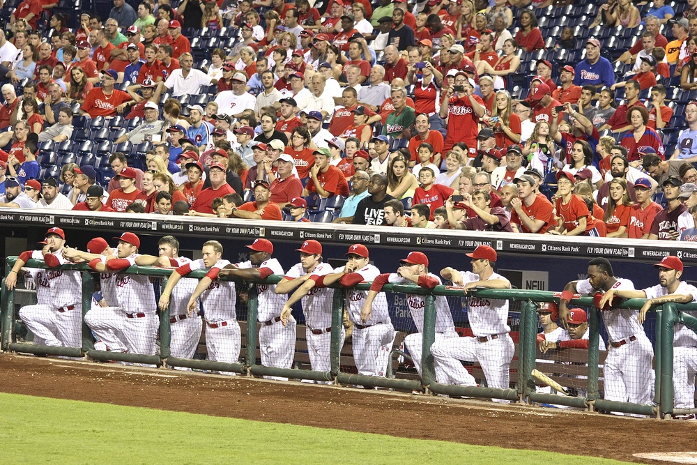Phillies just hanging out