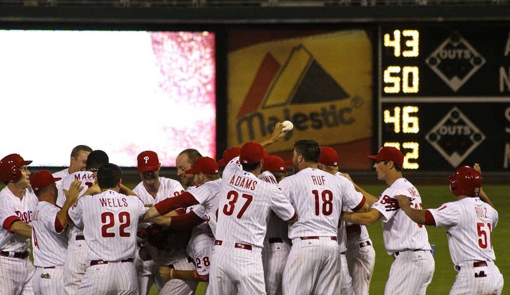 Walk off celebration