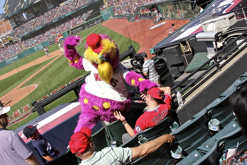 Slider vs. Angels fan