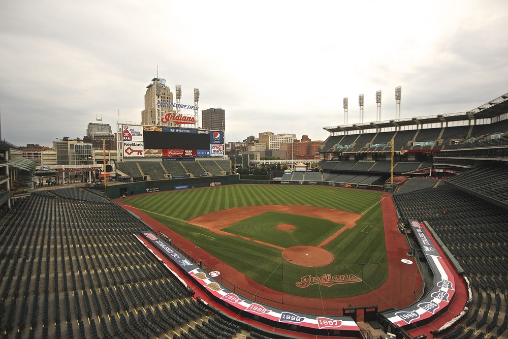 Empty Progressive Field