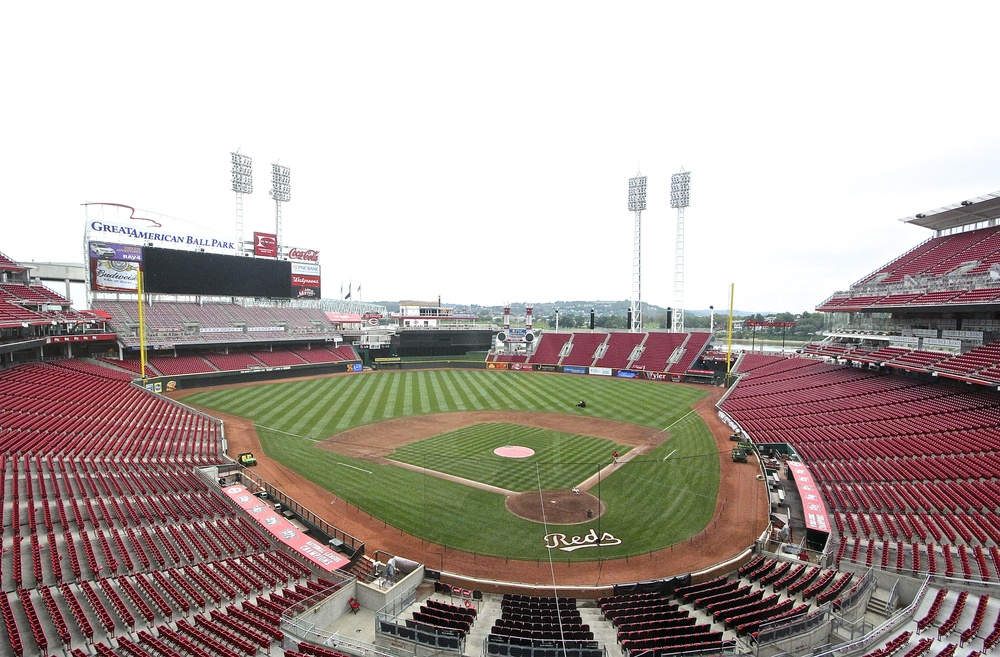 Empty Great American Ballpark