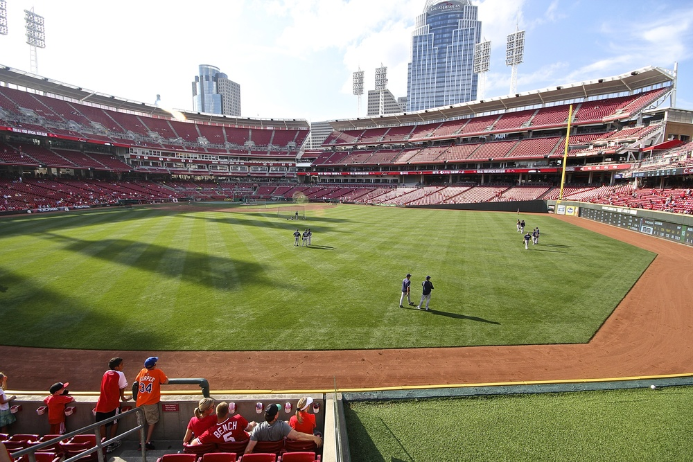 View from center field