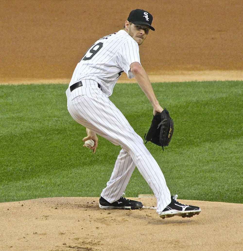 Chris Sale windup...