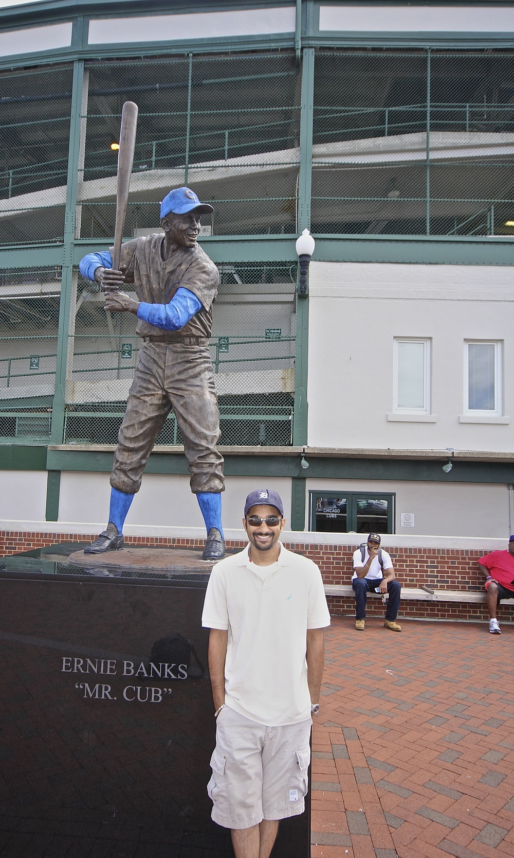 Me and Ernie Banks