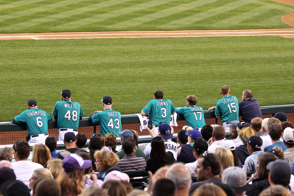 Mariners dugout