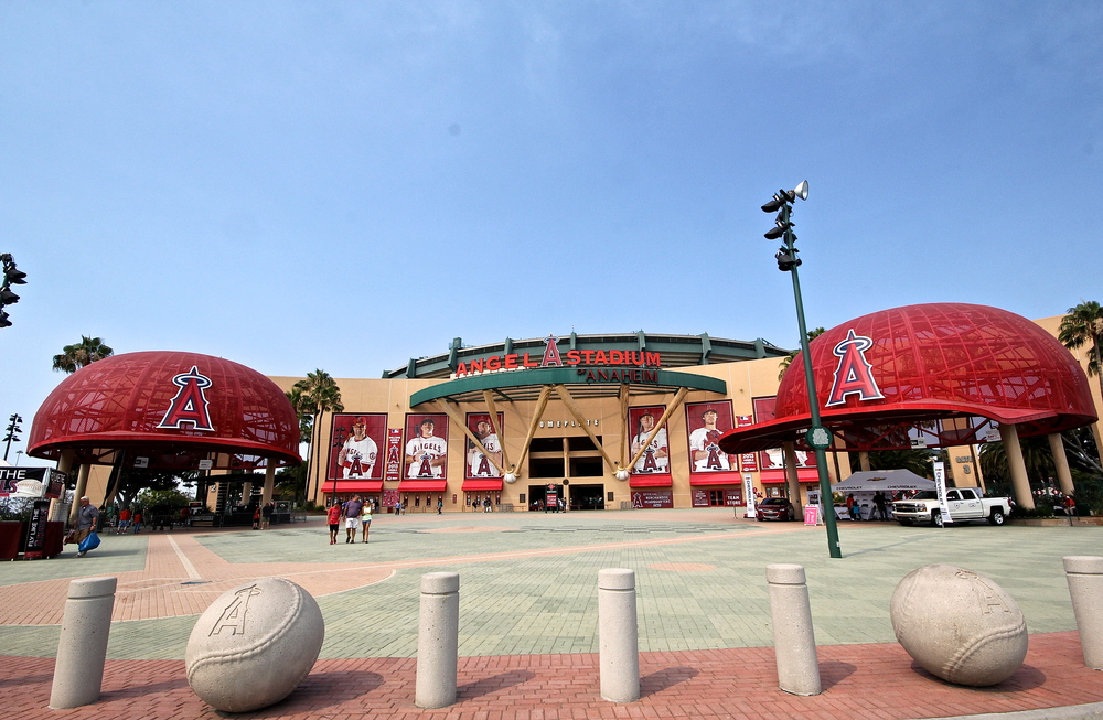 Outside of Angel Stadium