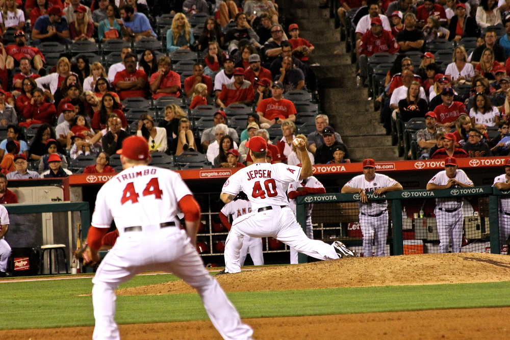 Mark Trumbo and Kevin Jepsen