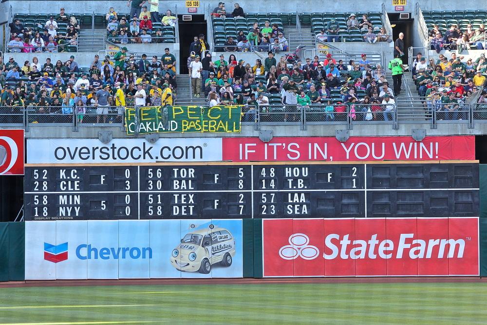 Respect Oakland baseball