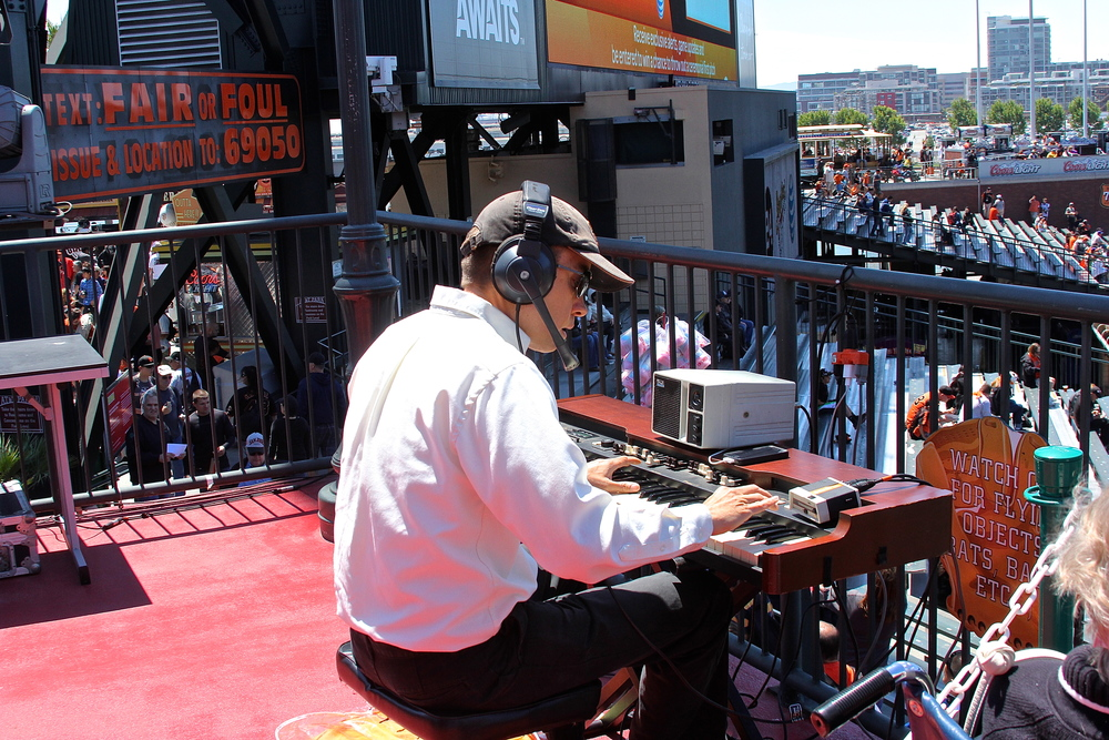Live organist