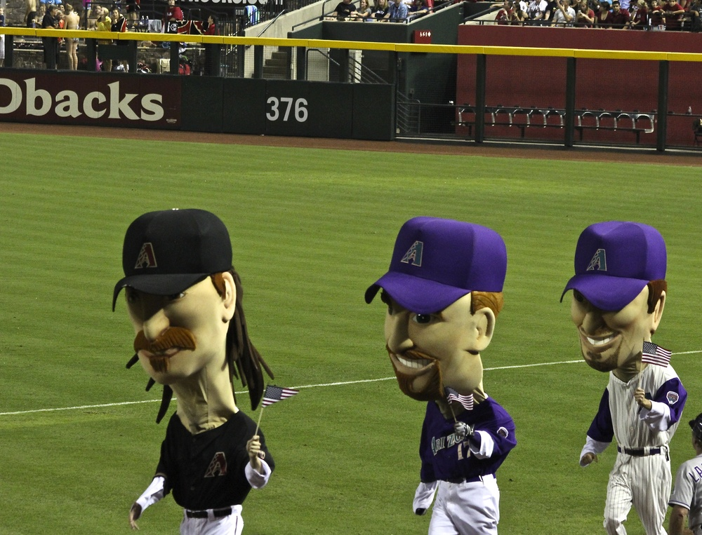 Diamondbacks legends race