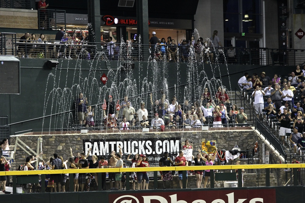 Fountains at Chase Field