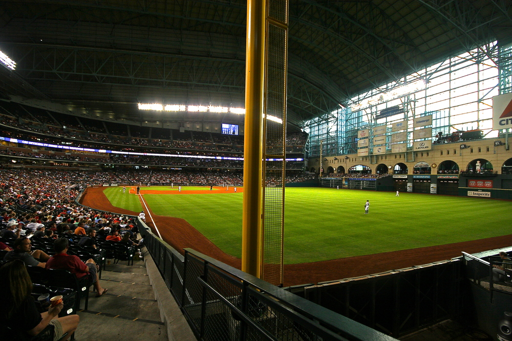 Minute Maid foul pole
