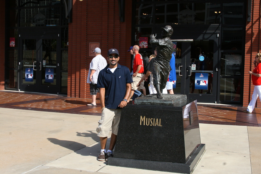 Me and Stan Musial