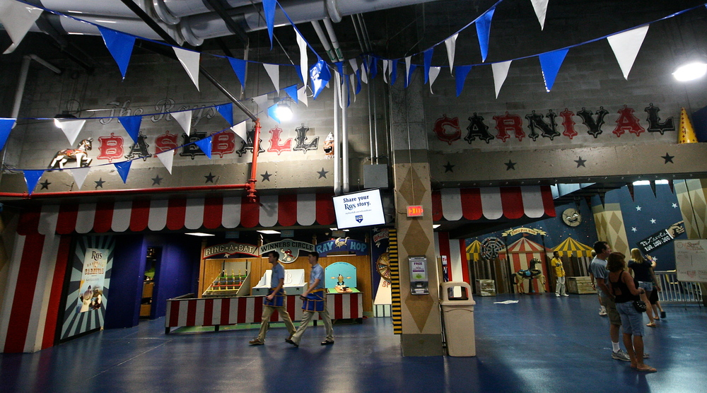Baseball Carnival games