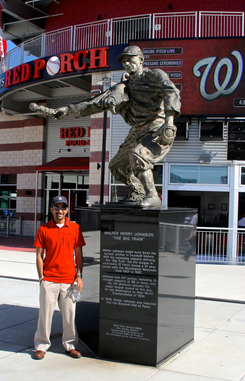 Me and Walter Johnson