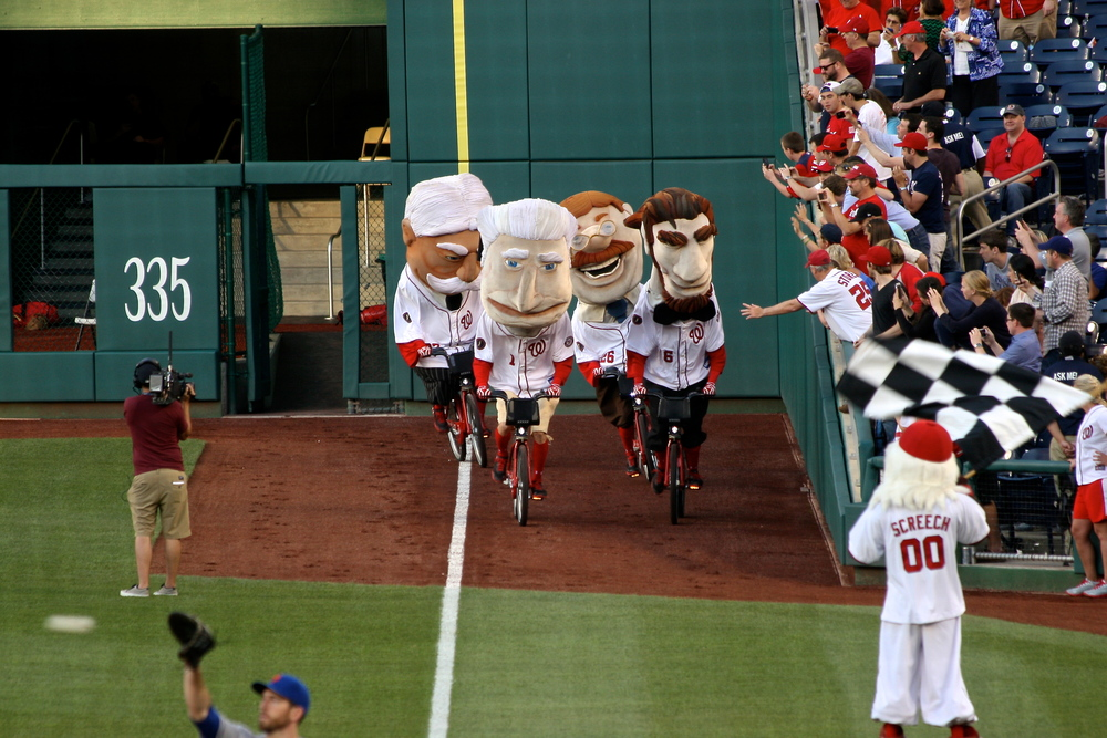 Presidents race