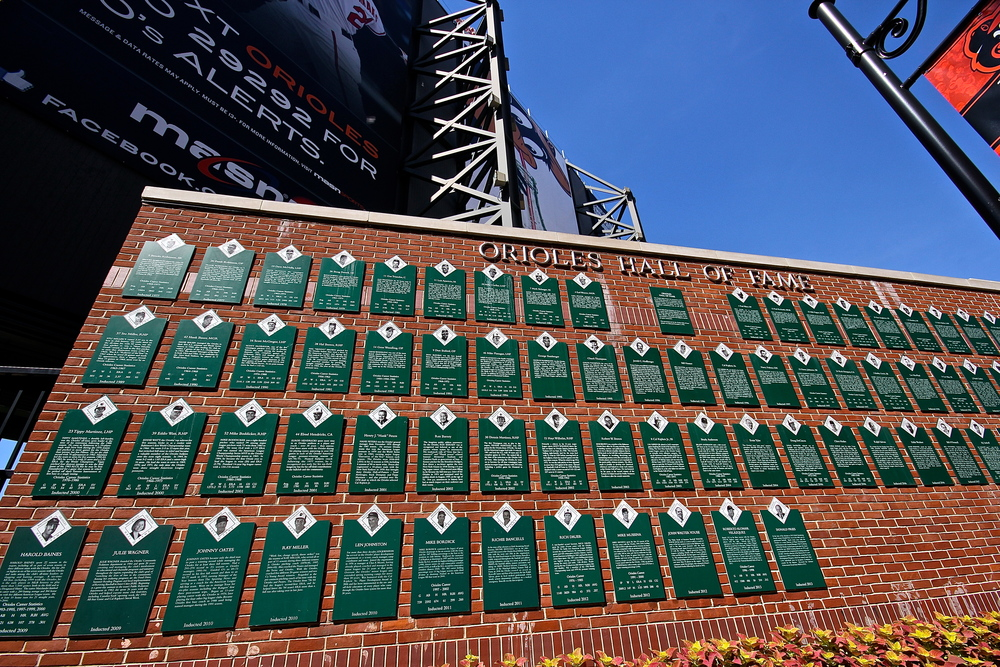 Orioles wall of fame