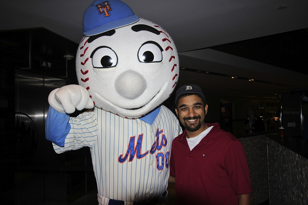Me and Mr. Met