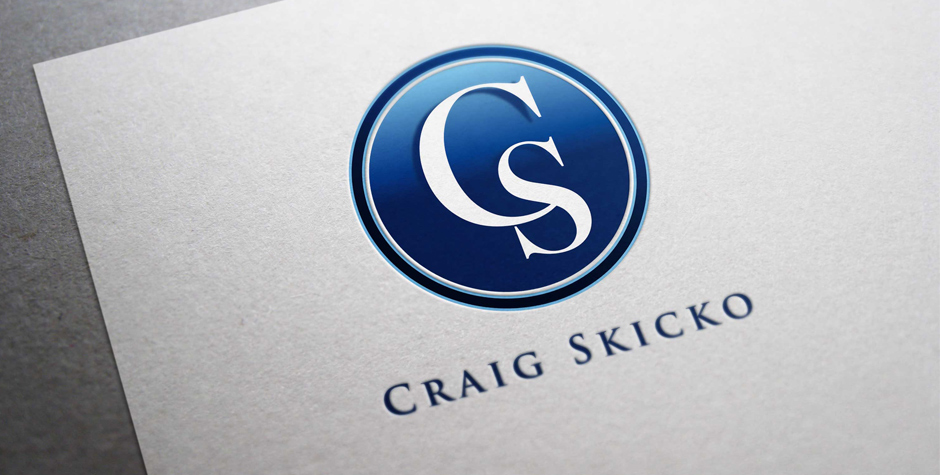 New Logotype Identity for Craig Skicko Entrepreneur