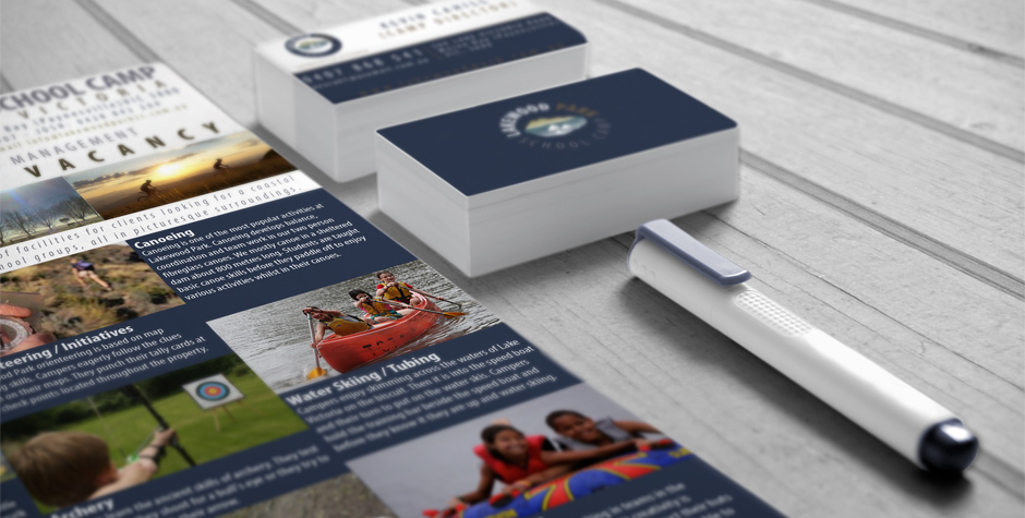 Identity and Logo design For Lakewood Park School Camp