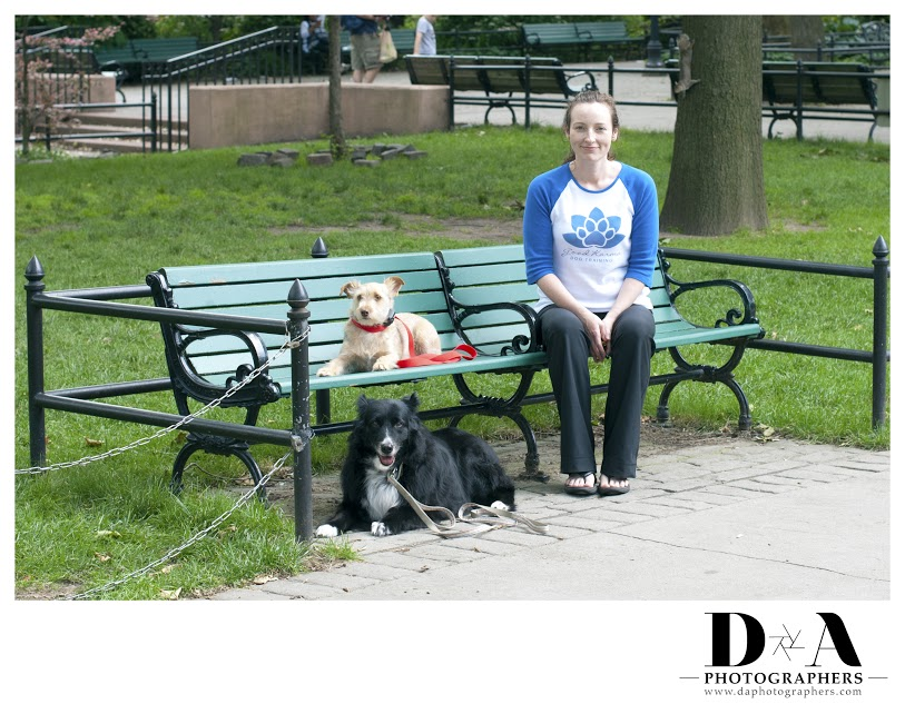 Milo, Karma and I at Van Vorst Park in Jersey City, New Jersey