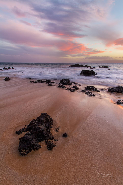 Maui, Big Beach Sunset