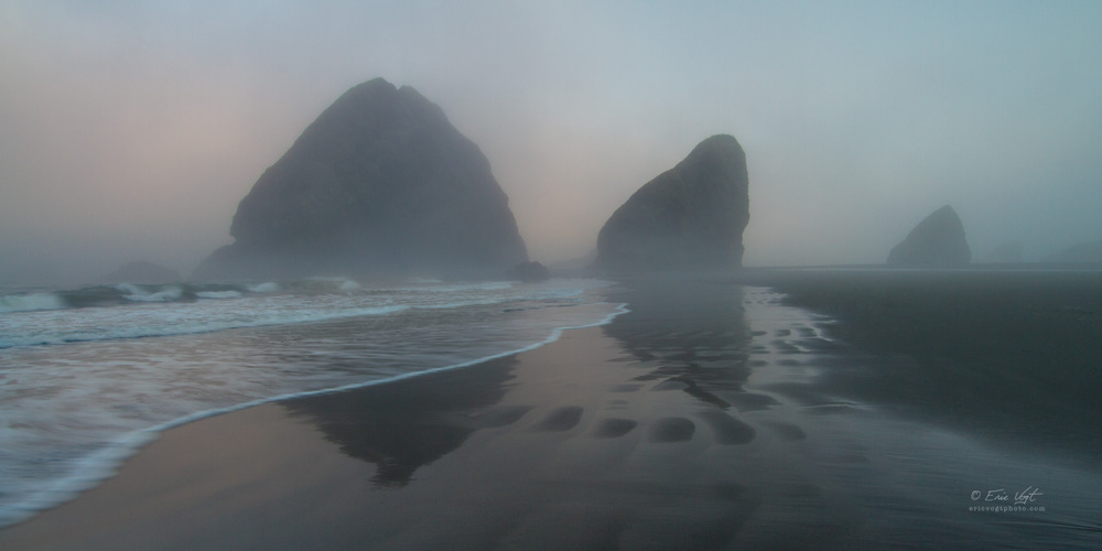 Gold Beach, Meyer's Morning Fog