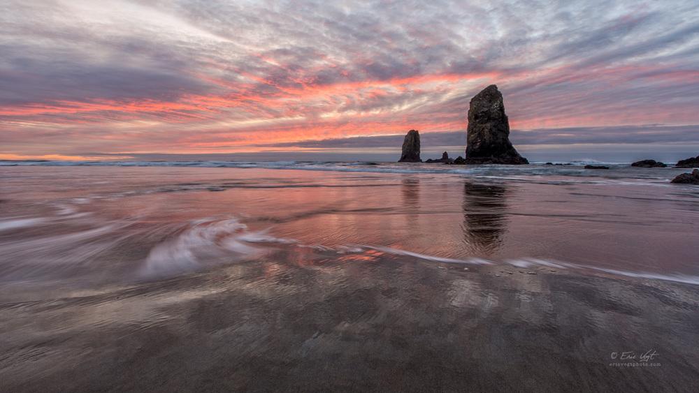 Cannon Beach, Sunset Swirl