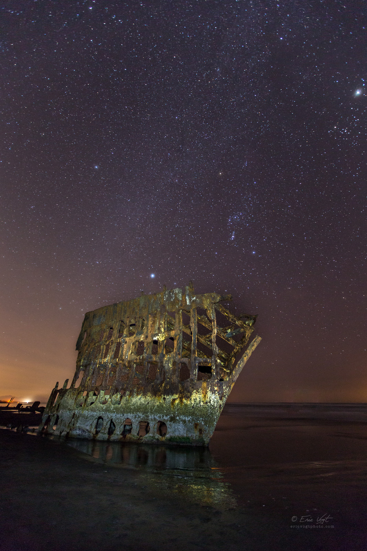 Peter Iredale, Sleeping Under the Stars